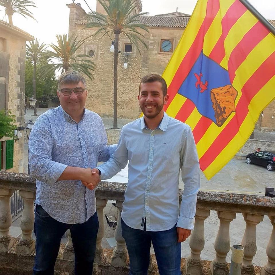 MÉS y PSIB-PSOE firman un acuerdo de gobernabilidad en el Ayuntamiento de Montuïri